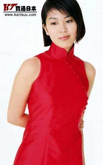 日本女星妩媚旗袍秀