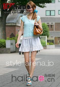 来自日本东京街头的时尚