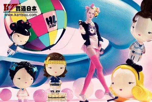 可爱的Harajuku Lovers香水广告