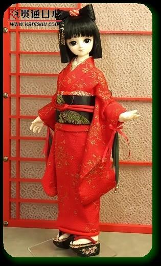 日本美艳的和服娃娃!