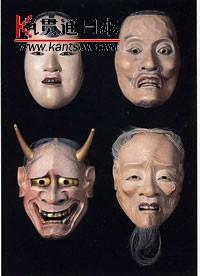 日本的各类面具