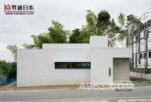 日本滋贺超简单别墅设计——贯通日本时尚频道
