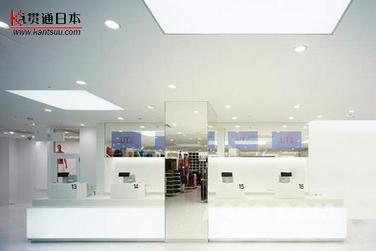 日本Uniqlo优衣库专卖店设计图赏