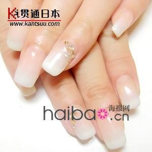 水钻颜色略有变化; 日本新娘美甲图片日本冬季超人气新娘花嫁美甲 2