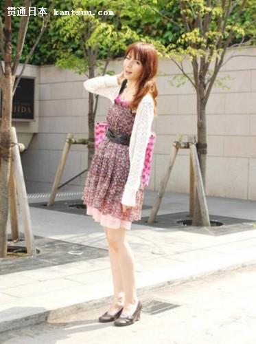 日本东京街头美女身材好――贯通日本时尚频道