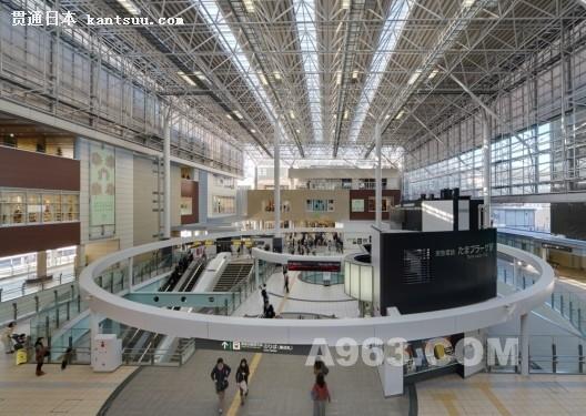 日本东京多摩广场中转站设计欣赏