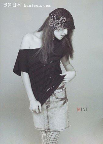 日本最HOT嫩模桥本丽香 酷帅牛仔装打造秋日时尚点击图片进入下一页