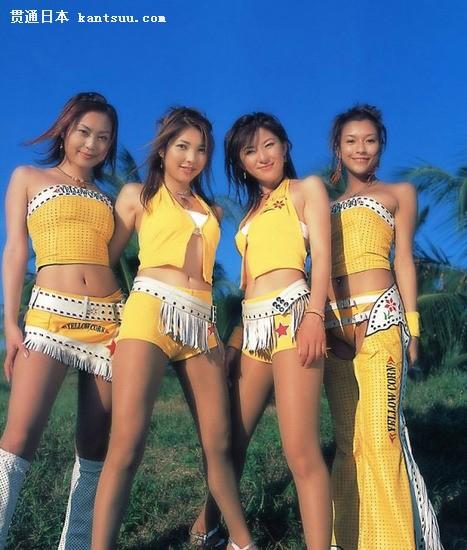 日本美女赛车宝贝黄色写真――贯通日本时尚频道