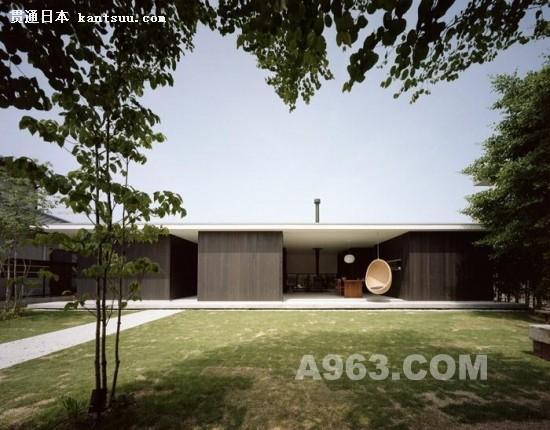 与庭院相连的日本私人住宅设计图赏