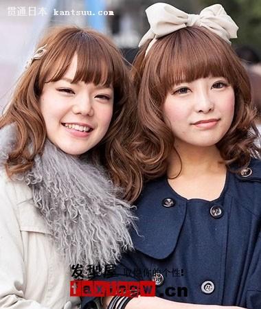 两款日系发型是可爱的娃娃头哦