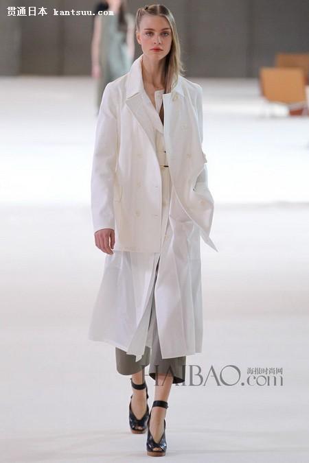 2015春夏流行色之白色系时装