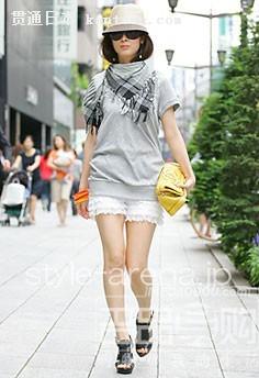 东京街头时尚美女 搭配大点评