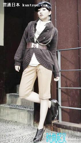 日本街拍 东京街头美女的前卫装扮(二)