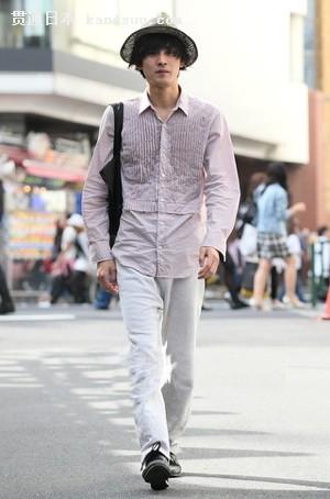 日式男生穿衣搭配
