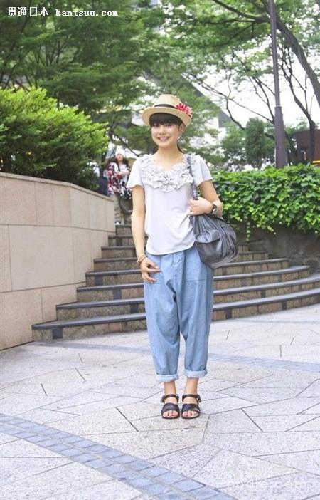 日本东京街拍 人都比较美