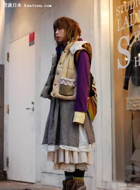 森林系女孩 引领东京最流行