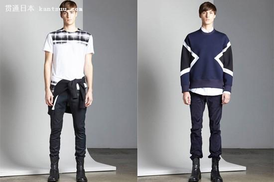 简约时装质感 Neil Barrett秋冬季度造型