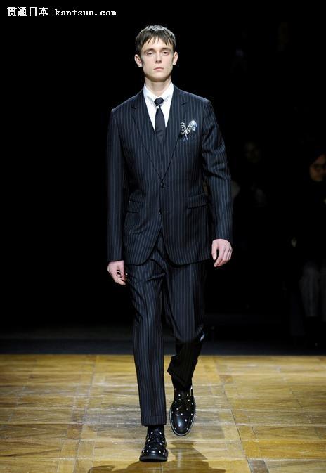 Dior Homme2014冬季男装系列发布秀