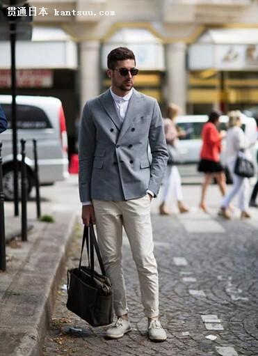 每件西装外套都有适合自己的裤子色
