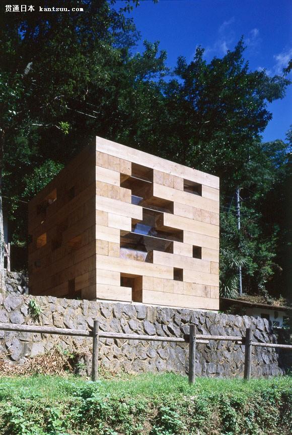 标志性日本木结构建筑——爱英斯木屋美学