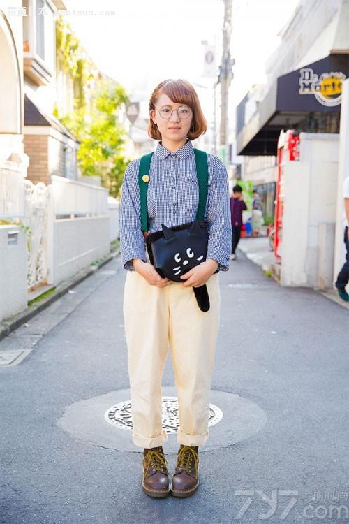 原宿风街拍 日本时尚发源的爆裂