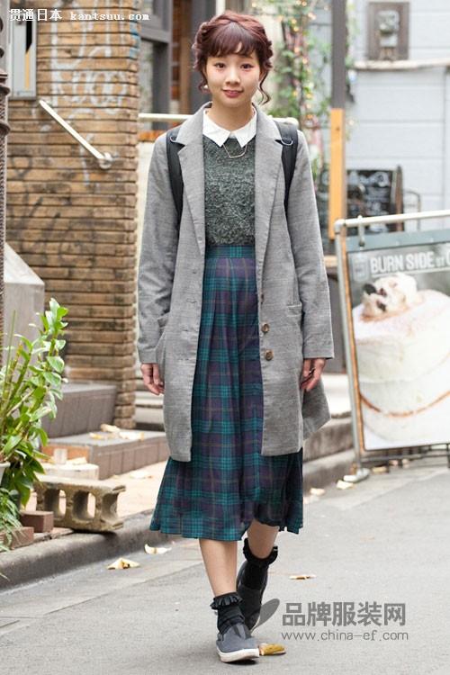 为什么日系女生就是萌萌哒?看看东京街拍