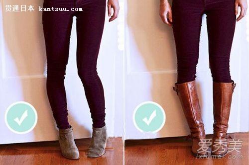 冬天如何搭配靴子 短靴长靴搭配法则