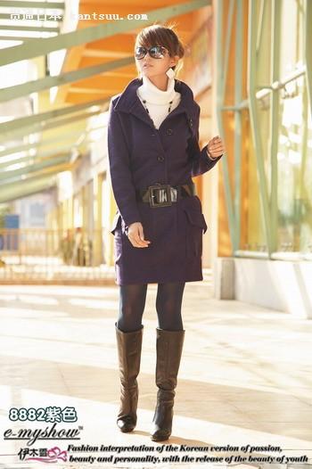 是OL的首选.-街头拍摄 时尚MM的逛街穿衣搭配法则