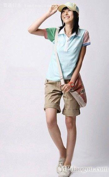 宽松短裤搭配 今夏最流行的清爽装