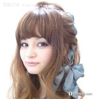 女生甜美感的时尚瘦脸发型