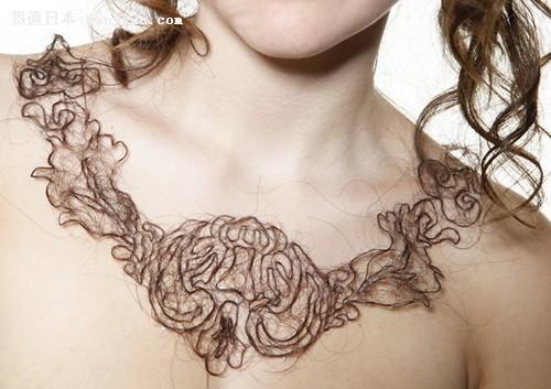 头发项链 让你个性十足