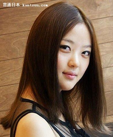 韩国美女示范百变秋冬发型