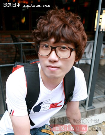 韩式男生发型集锦 清新帅气惹人爱