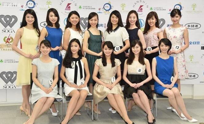 2017日本小姐决赛人选:张张辣眼睛!看完忍不住哭了
