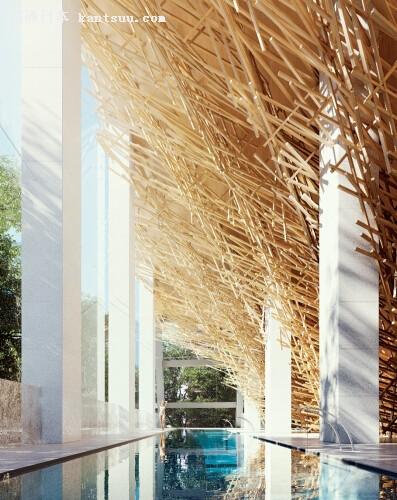木结构泳池