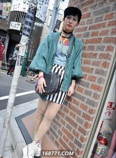 日本潮人街拍图片大比拼 细节决定成败